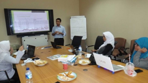 Discussion session with BMKG Research staffs